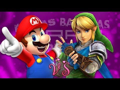 Mario vs Link. Épicas Batallas de Rap del Frikismo ¡Bonus! | Keyblade ft. Kinox & NZFandubs