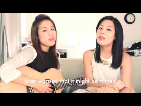 Try - Jayesslee Cover with Lyrics on screen