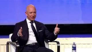 Jeff Bezos at 2018 Air, Space and Cyber Conference