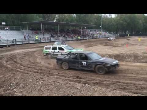 Trash Cars Race At The Cache County Fairgrounds Youtube