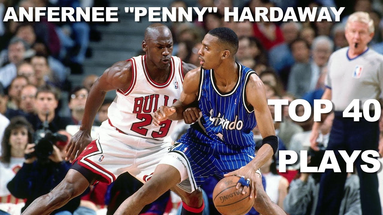 Penny Hardaway Top 40 BEST Plays The Magic