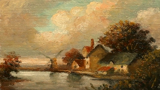 Oil Painting landscape With Yasser Fayad