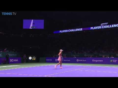 Serena Williams vs Caroline Wozniacki | 2014 WTA Finals SF Highlights