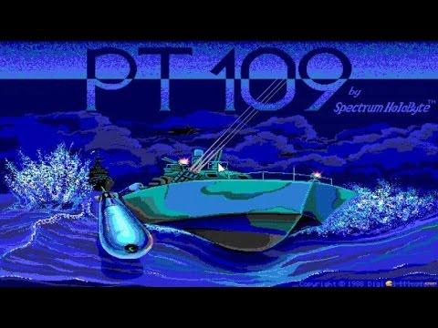 PT-109 gameplay (PC Game, 1987)