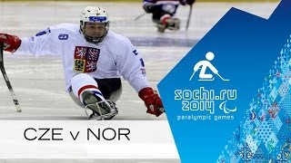 Czech Republic V Norway Full Game | Group Stage | Ice Sledge Hockey | Sochi 2014 Paralympics