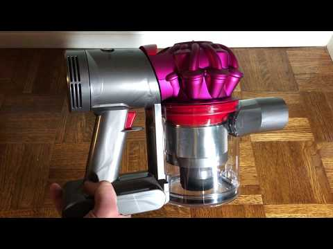 How to Remove the Bin on the Dyson V7 (Remove the Clear Part)