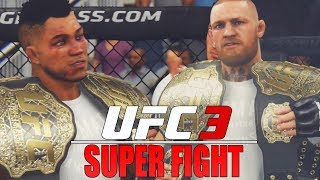 Super Fight Against Conor McGregor! True GOAT! EA Sports UFC 3 GOAT Career Mode Gameplay