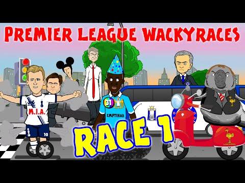RACE 1 Premier League Wacky Races(Cech...