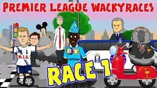 RACE 1 Premier League Wacky Races(Cech saves Walker Own Goal Courtois Red Card Eva vs Mourinho)