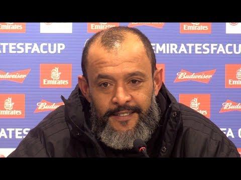Wolves 2-1 Liverpool - Nuno Espirito Santo Full Post Match Press Conference - FA Cup