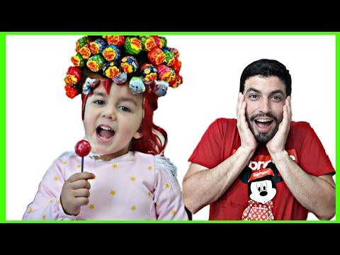 Hairstyle Chupa Chups Lollipops -تسريحة جميلة للشعر
