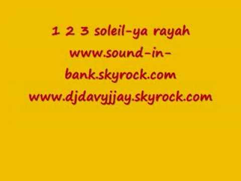 1 2 3 soleil-ya rayah