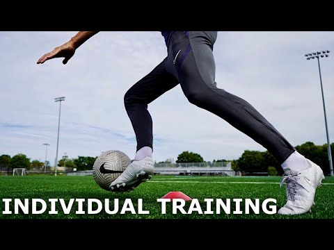 Full Individual Training Session For Footballers | The Off Season Training Series