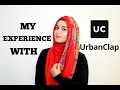 My Experience With Urban Clap | Ramsha Sultan