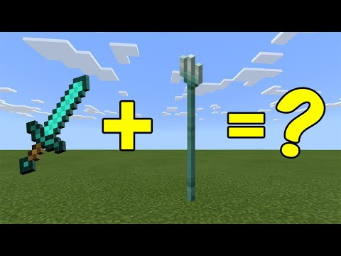 I Combined A Trident And A Diamond Sword In Minecraft - Here's WHAT Happened...