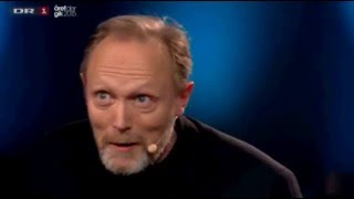 "Lars Mikkelsen sings the Russian song ""Korobeiniki"" in a TV show"