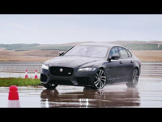 Тест-драйв Jaguar XF 2016 // АвтоВести 240