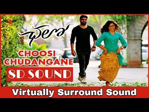 Choosi Chudangane   8D Audio Song   Chalo Movie   Telugu 8D Songs