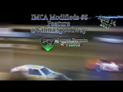 IMCA Modified #1, Feature, Salina Speedway, 2017