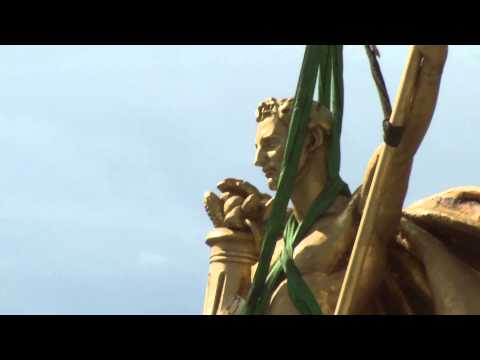 Charioteer Removed from Capitol