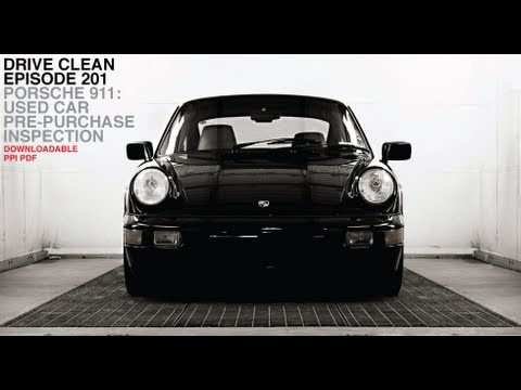 porsche 911 used car pre purchase inspection drive clean youtube. Black Bedroom Furniture Sets. Home Design Ideas