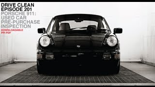 Porsche 911: Used Car Pre-Purchase Inspection -- /DRIVE CLEAN
