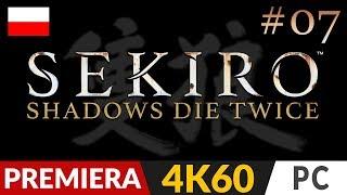 Sekiro Shadows Die Twice PL  #7 (odc.7)  Duży pan z dużym koniem = BOSS   Gameplay po polsku 4K