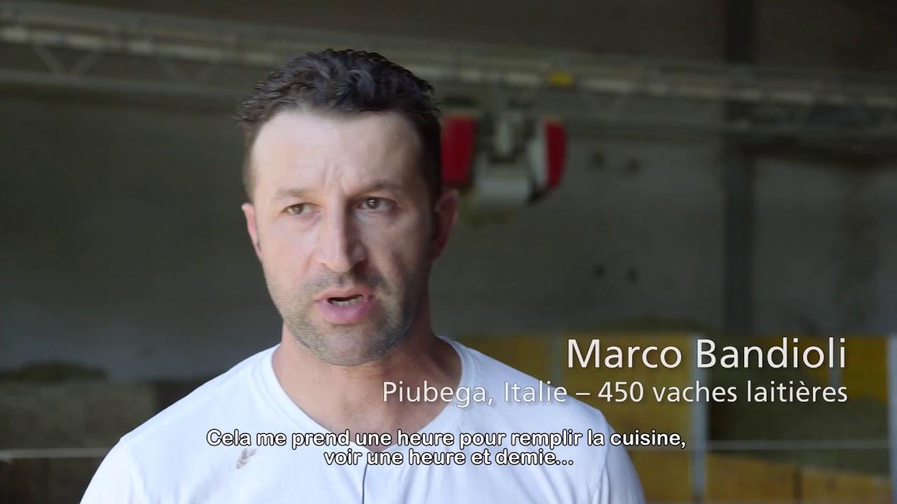Lely Vector – Témoignages utilisation cuisine (Français)