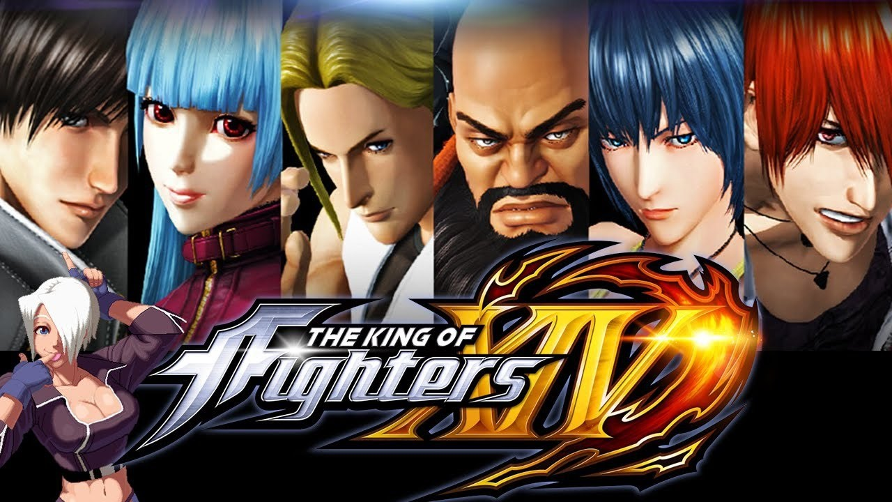 The King Of Fighters XIV All Cutscenes (Game Movie) 1080p HD