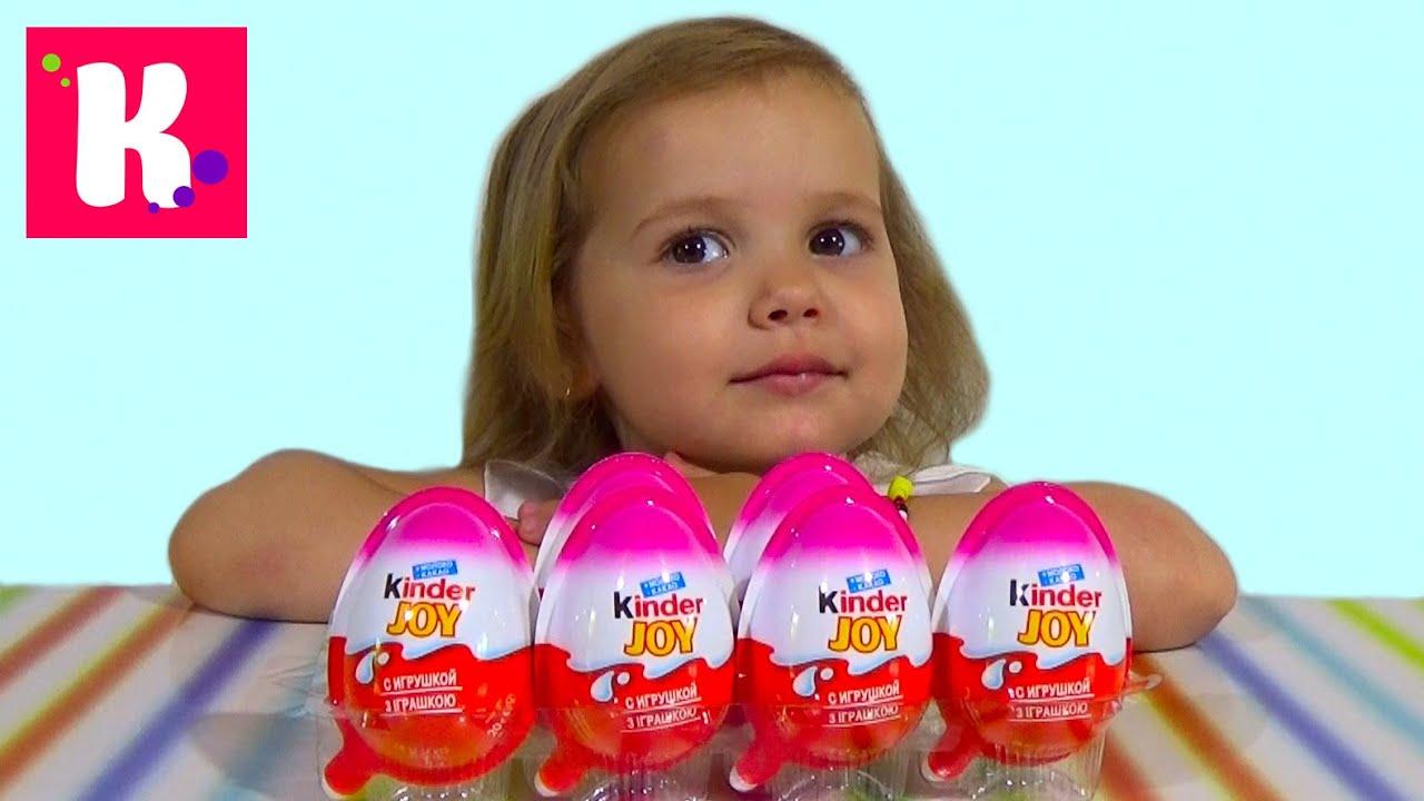 Винкс Клуб Киндер Джой игрушки распаковка WINX Kinder Joy toys unboxing