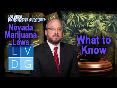 Can I legally smoke marijuana in Nevada?