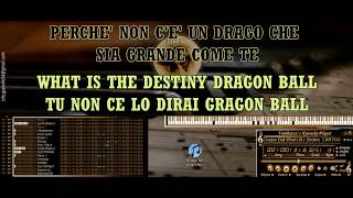 Dragon Ball What's My Destiny CARTOONS KARAOKE BASI MIDI DEMO SOUNDFONT