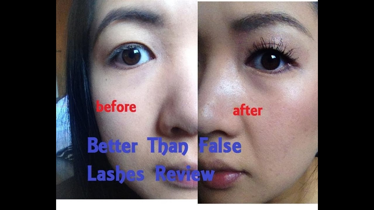 Better Than False Lashes from Too Faced product review video - YouTube