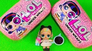#ЛОЛ КАПСУЛЫ Кукла ЛОЛ 4 Серия Распаковка Игрушки для детей LOL Surprise UNDER WRAPS