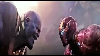 Iron man vs  Thanos  (full acsone sen)