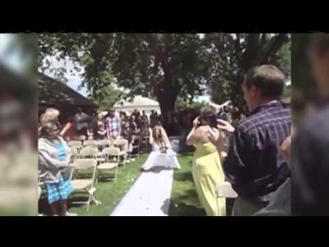 Skanky Bridezilla Shocks Wedding Guests & Squats, Twerks