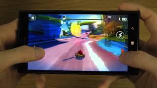 Angry Birds Go Nokia Lumia 1520 HD Gameplay Trailer