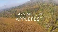 Gays Mills, WI - Applefest Annual Fall Celebration