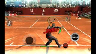 !!!!!! Harold best player in tennis ultimate game!!!!!!  You never belive
