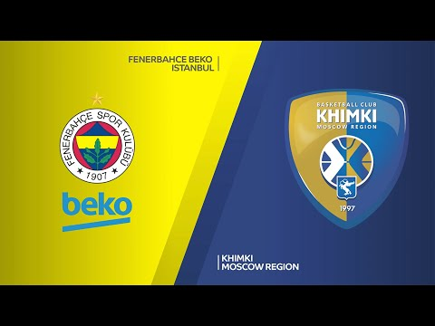 Fenerbahce Beko Istanbul - Khimki Moscow Region Highlights | EuroLeague, RS Round 7