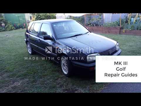 VW Golf MK III Rear Crank Shaft Seal Removal