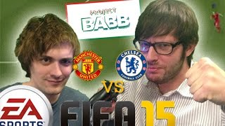 Manchester United v Chelsea: The Digital Premier League on FIFA15 PS4