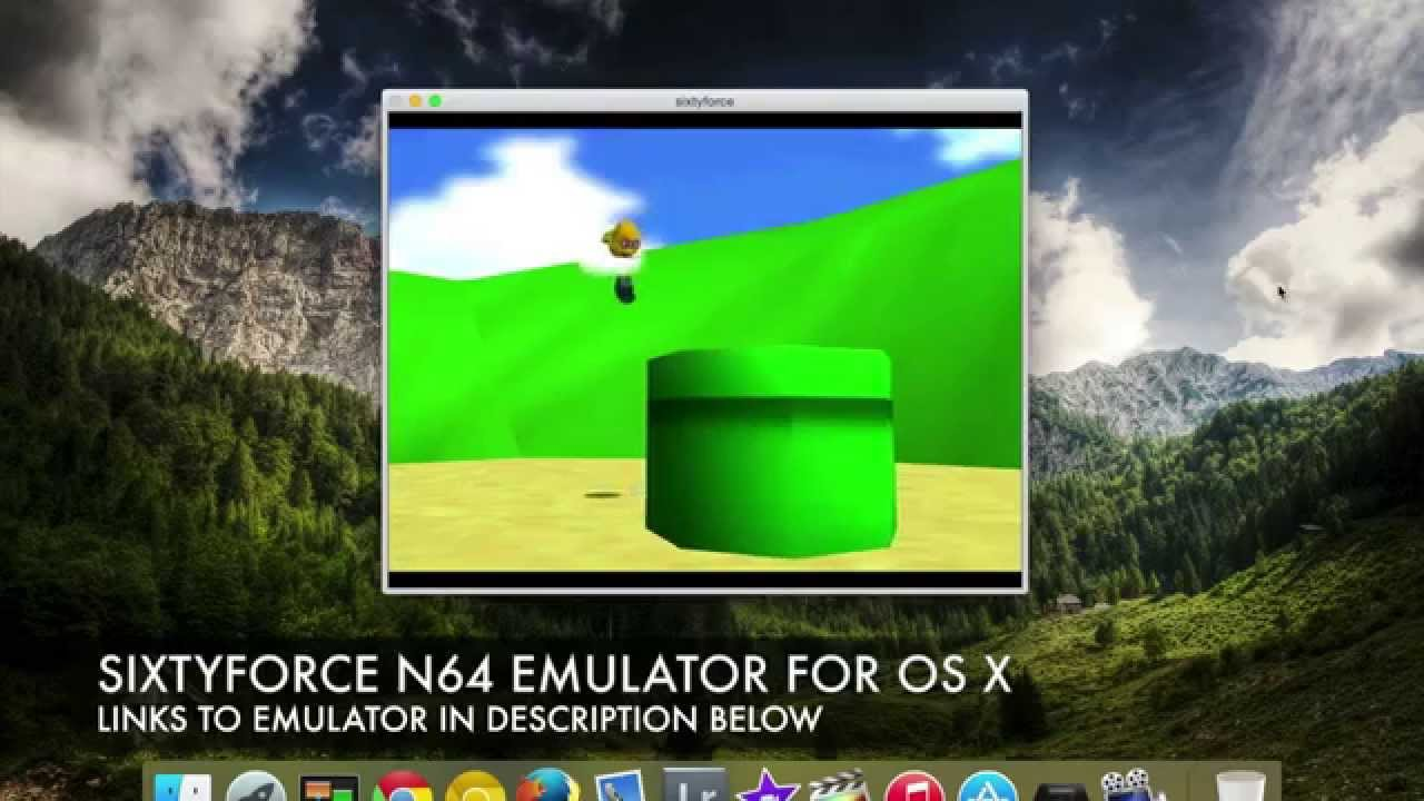 Sixtyforce Mac N64 Emulator on Macbook Pro Retina (15 inch) OS X