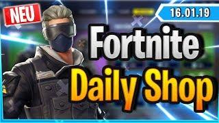 Fortnite Daily Shop *NEW* VERGE SKIN (16 January 2019)