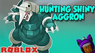 SHINY AGGRON HUNT   Roblox Pokemon Brick Bronze Livestream