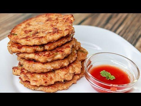 Chicken Pancake Recipe | Easy Chicken Snacks Recipe | Kids Tiffin Box Idea | Toasted