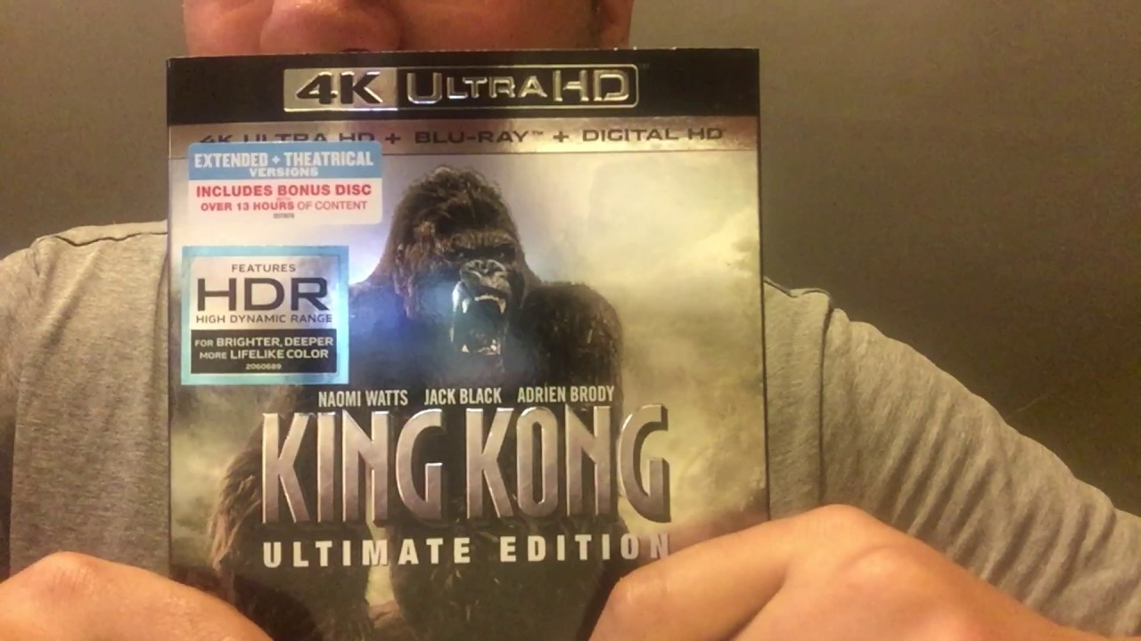 King Kong Ultimate Edition 4k Ultra Hd Blu Ray Unboxing Youtube
