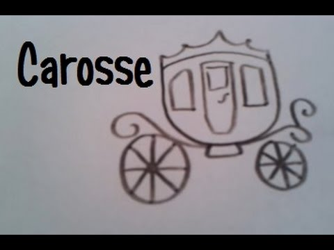 Dessin Carrosse dessiner un carosse - youtube
