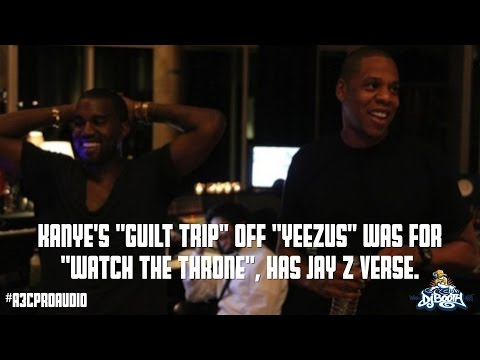 "Kanye West's ""Guilt Trip"" off ""Yeezus"" Was for ""Watch The Throne"", Has Missing Jay Z Verse - S1"