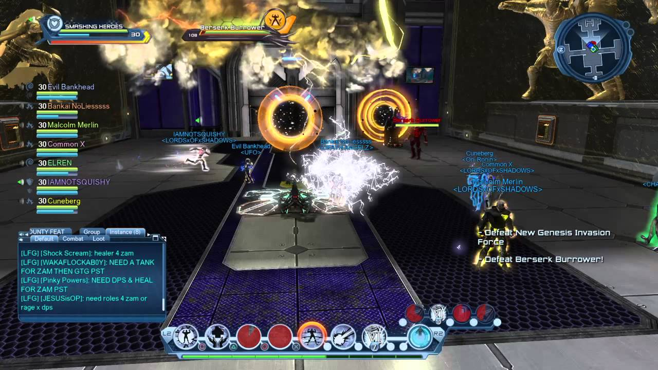 dcuo electric healer loadout gameplay november 2014 youtube